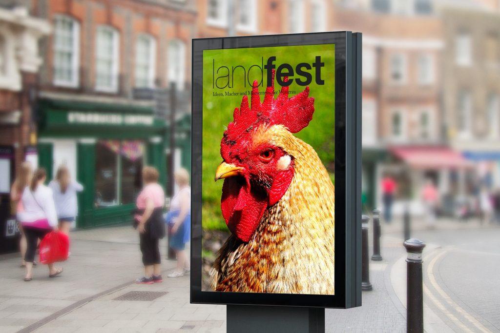 City Light Poster landfest
